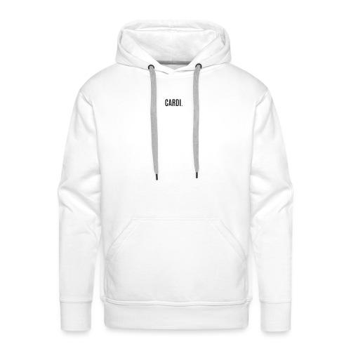 CARDI LIMITED EDITION - Sweat-shirt à capuche Premium pour hommes