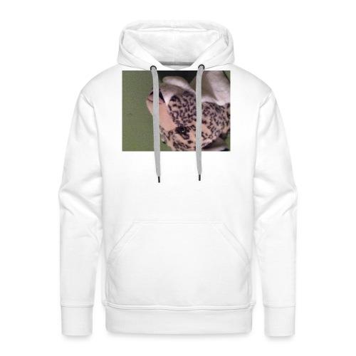 Opdekop tijger - Mannen Premium hoodie