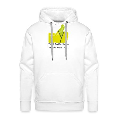 gilet - Sweat-shirt à capuche Premium pour hommes