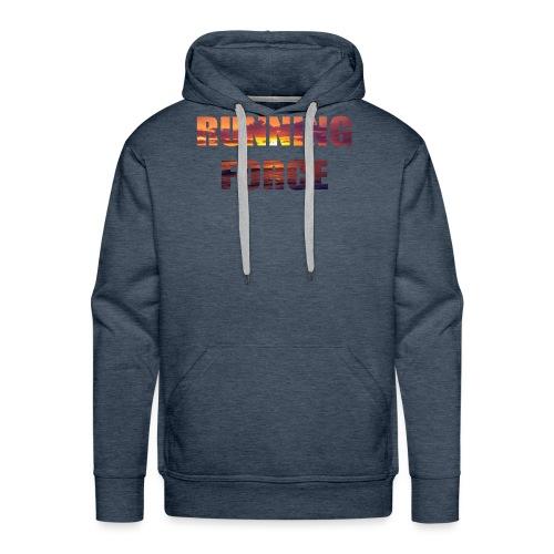Logo-Shirt RUNNINGFORCE - Männer Premium Hoodie