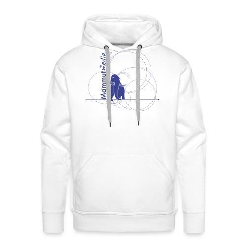 Mammutmedia magliette - Felpa con cappuccio premium da uomo