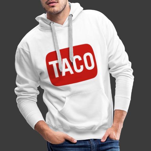 Taco Karsten Youtube Logo 2 - Herre Premium hættetrøje