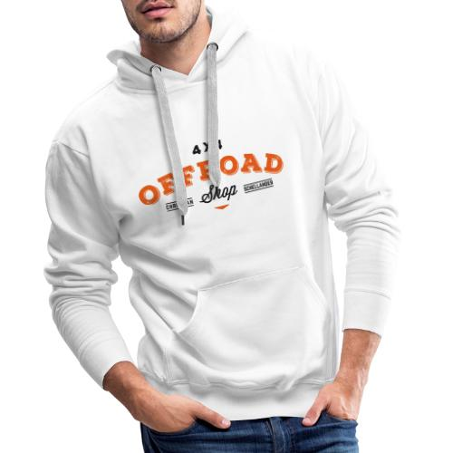 4x4 Offroad Shop Logo V2 - Männer Premium Hoodie