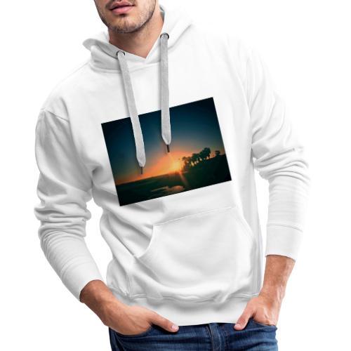 SUNSET - Felpa con cappuccio premium da uomo