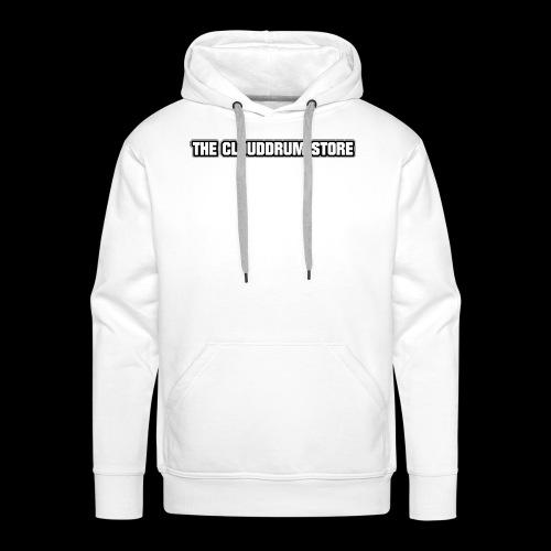 THE CLOUDDRUM STORE - Mannen Premium hoodie