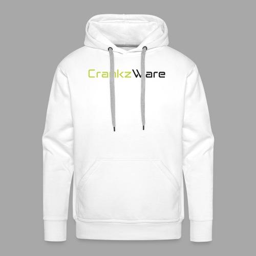 CrankzWare Tech-Font - Männer Premium Hoodie