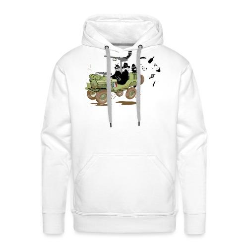 Jeep TTK - Sweat-shirt à capuche Premium pour hommes