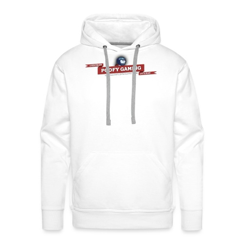 Poofy Gaming - Full Text - Mannen Premium hoodie