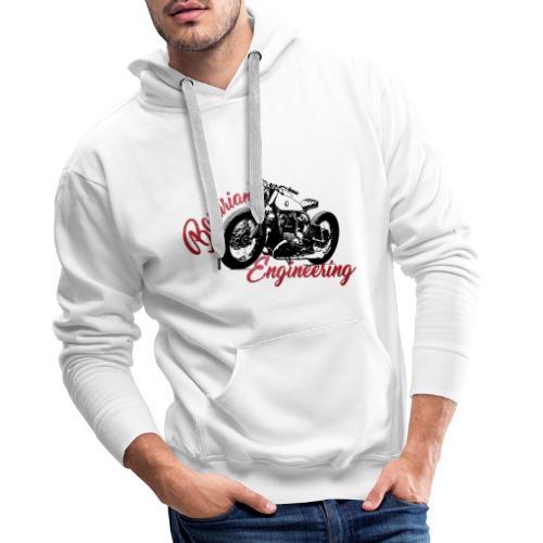 Bavarian Engineering Motorcycle - Männer Premium Hoodie