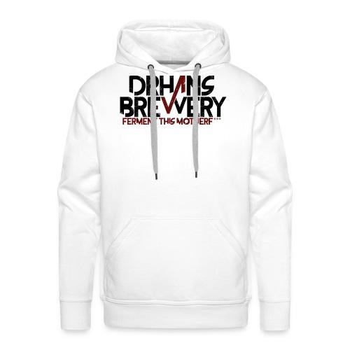 DrHans Brewery Logo - Premiumluvtröja herr