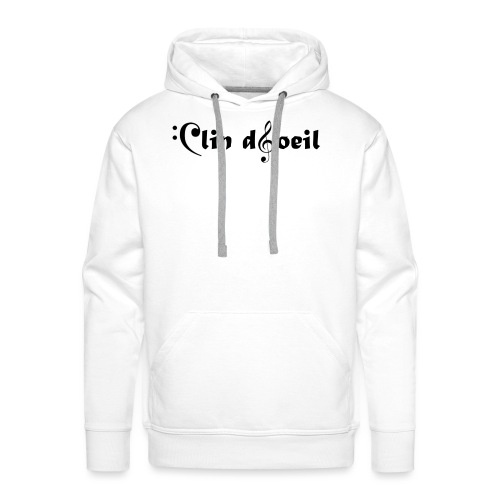 logo jyem - Sweat-shirt à capuche Premium pour hommes