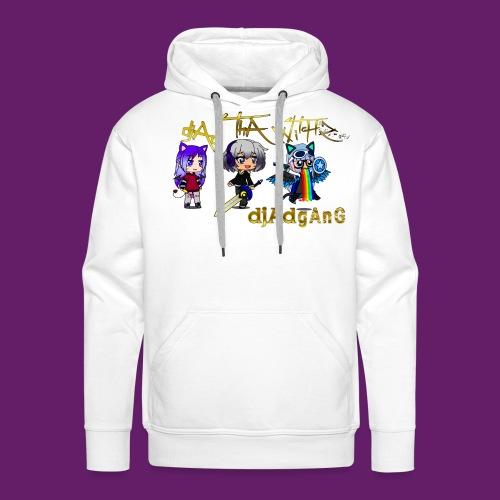 djAd ThA Witch Z djAdgAng - Sweat-shirt à capuche Premium pour hommes