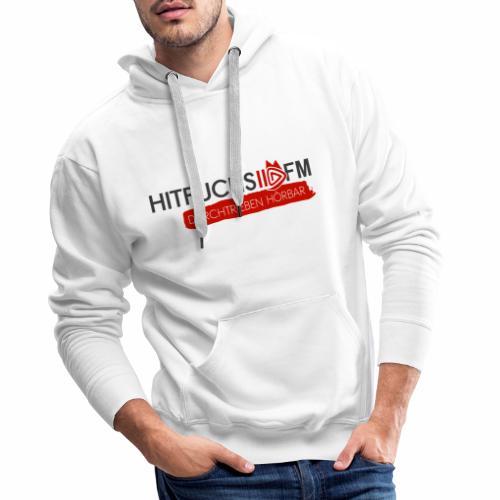 HitFuchs logo + slogan - Men's Premium Hoodie