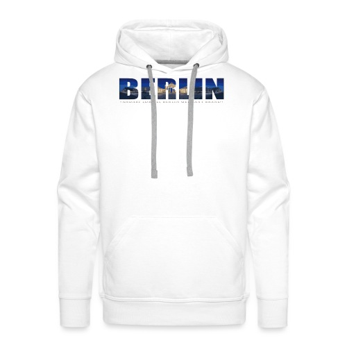 AL BERLIN BT - Männer Premium Hoodie