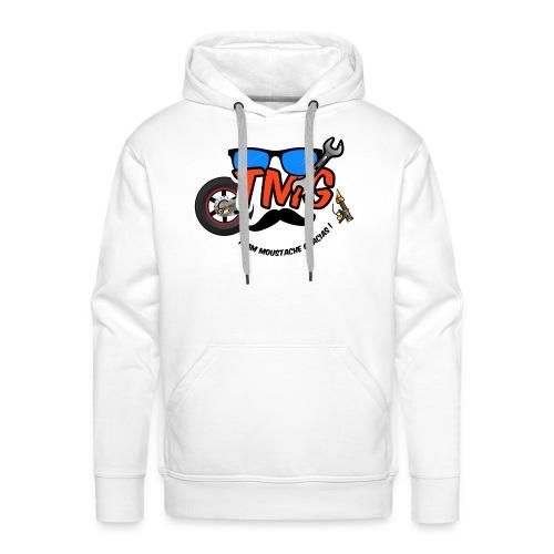 Logo TMG lunette - Sweat-shirt à capuche Premium pour hommes