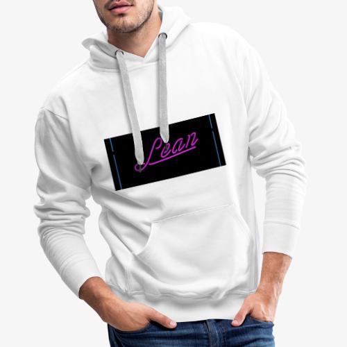 Lean design - Männer Premium Hoodie