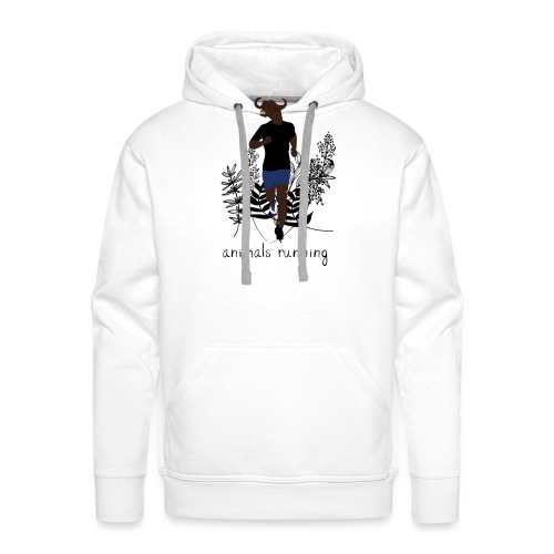 Buffle running - Sweat-shirt à capuche Premium pour hommes