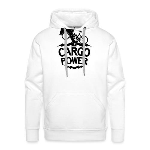 Lastenrad Cargo Power - Männer Premium Hoodie