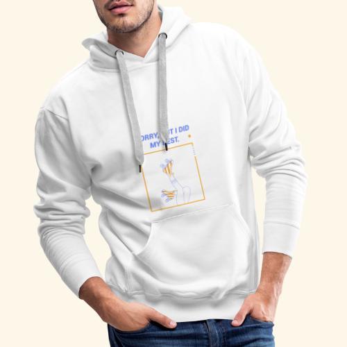 Patins à roulettes - Sweat-shirt à capuche Premium pour hommes