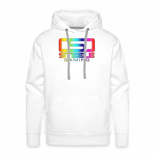 Rainbow logo - Premiumluvtröja herr