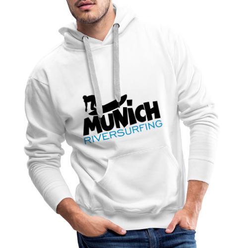Munich Riversurfing München Surfer - Männer Premium Hoodie