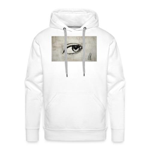 Drawn Eye - Männer Premium Hoodie