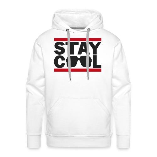 Stay Cool Hip Hop - Herre Premium hættetrøje
