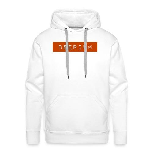 BEERIUM logo orange - Premiumluvtröja herr