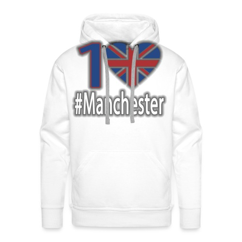 One Love Manchester - Men's Premium Hoodie