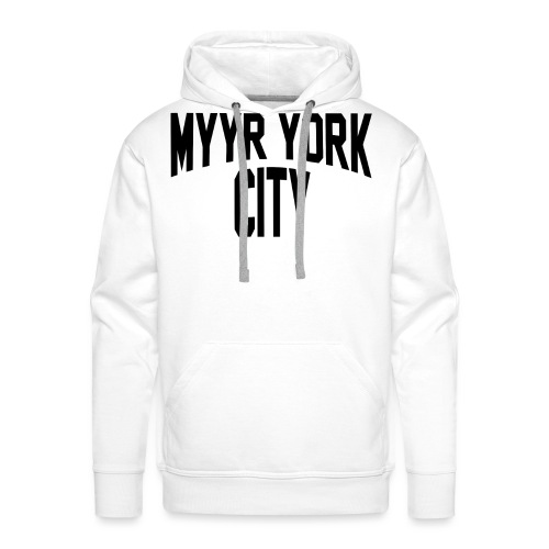 MYYR YORK CITY - Miesten premium-huppari