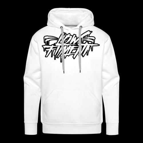 LFnewBLACKWHITE - Mannen Premium hoodie