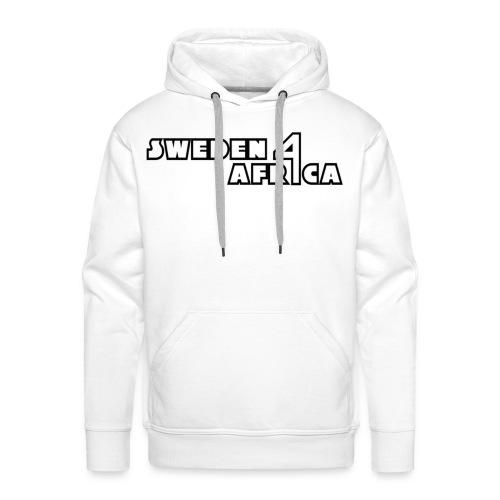 sweden 4 africa text logo v2 - Premiumluvtröja herr