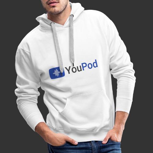 YouPod - Sweat-shirt à capuche Premium pour hommes
