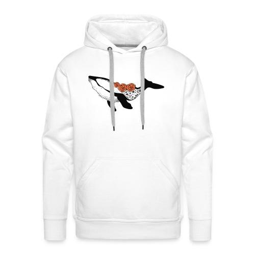 Baleine - Sweat-shirt à capuche Premium pour hommes