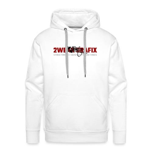 2wear Grafix Box Logo - Herre Premium hættetrøje