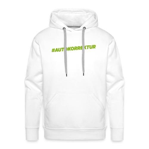 AUTOKORREKTUR - Men's Premium Hoodie