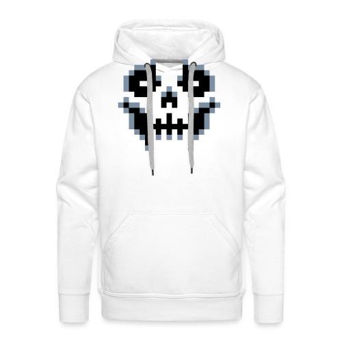 pixel-skull - Men's Premium Hoodie