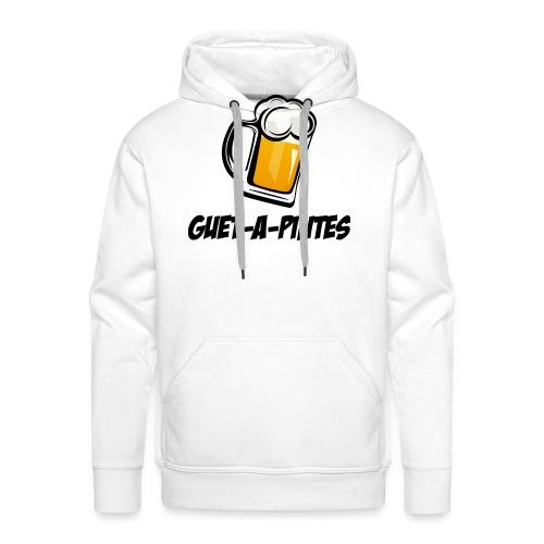 guet à pintes - Sweat-shirt à capuche Premium pour hommes