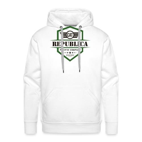 REPUBLICA CATALANA color - Sudadera con capucha premium para hombre