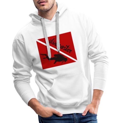 divemaster - Sudadera con capucha premium para hombre
