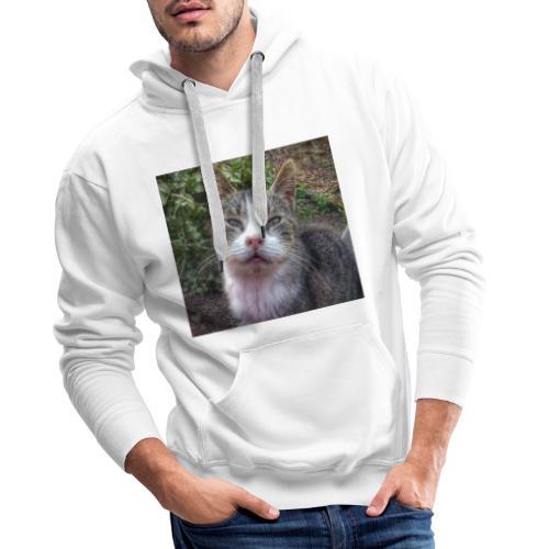 Katze Max - Männer Premium Hoodie