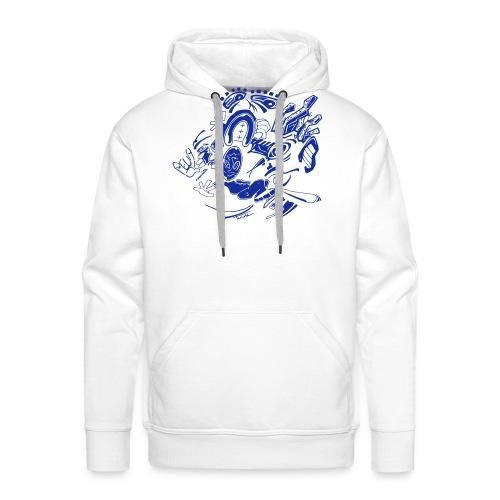 Downtown Upside Down - Sweat-shirt à capuche Premium pour hommes
