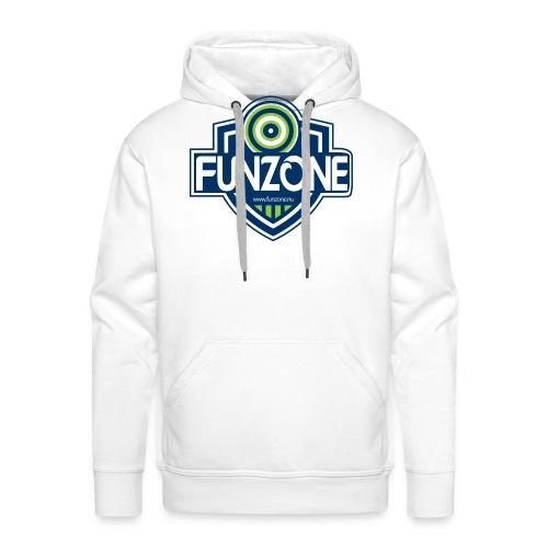Funzone_logo_ljus_bakgrund - Premiumluvtröja herr