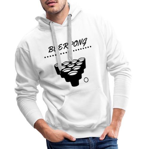 beerpong - Männer Premium Hoodie