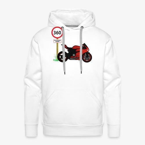 Free ride - Sweat-shirt à capuche Premium pour hommes
