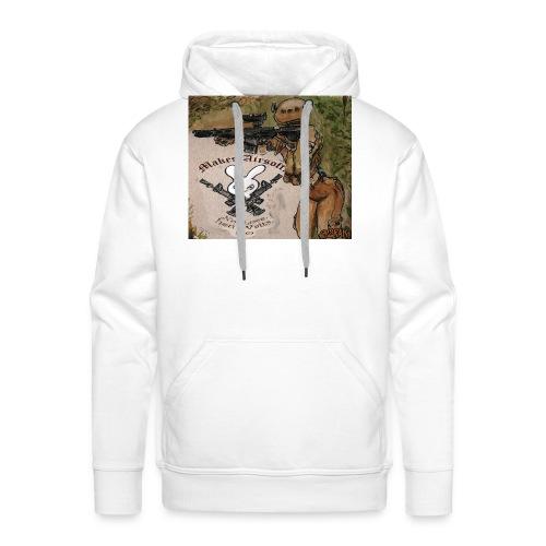 makesairsoft - Sweat-shirt à capuche Premium pour hommes