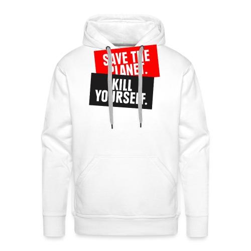 SAVE THE PLANET - Männer Premium Hoodie