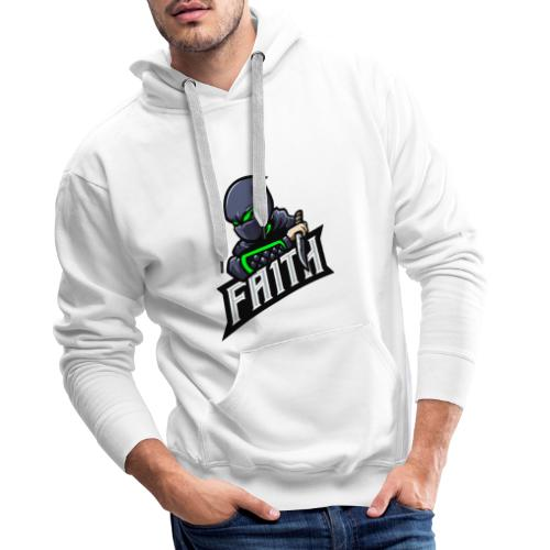 FA1TH LOGO MERCH - Men's Premium Hoodie