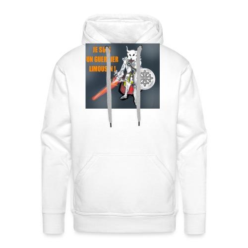 limouzi warrior - Sweat-shirt à capuche Premium pour hommes