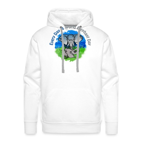 Every Day Is World Elephant Day - Männer Premium Hoodie